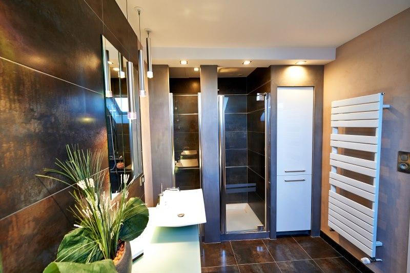 Salle de bain moderne collection cuisine for S bain cholet